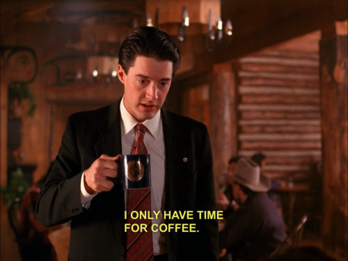Oh, Agent Cooper, that's what you think.