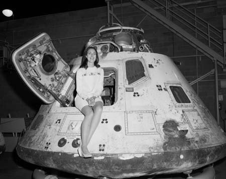 spacewatching:  Miss NASA in Apollo 8  More spottings, again from 1968. Hmm.