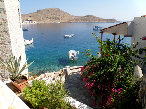 A lovely view from Halki, Greece