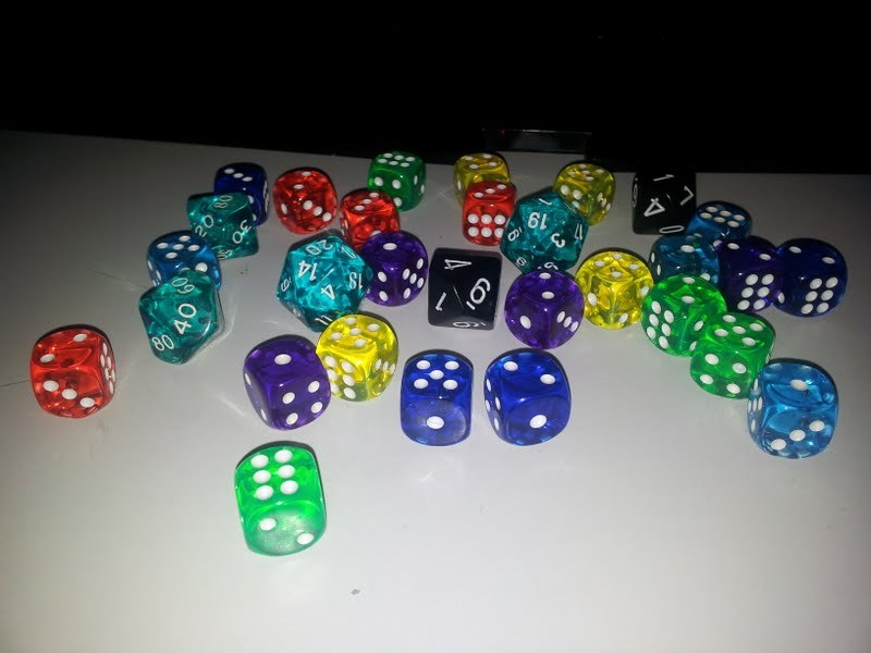 finally got my own dices