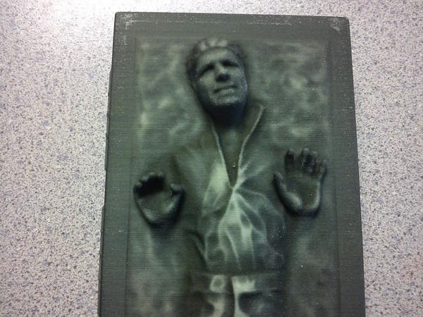 I have a Star Wars figure made after me.  I am frozen in carbonite and got this figure at Star Wars Celebration VI.  This exclusive was only available during Star Wars Weekends in Orlando and at CVI.