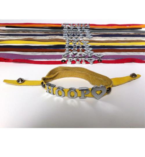 Bracelets - POI♥ HOOP♥ STAFF♥ - Leather - more colors & options