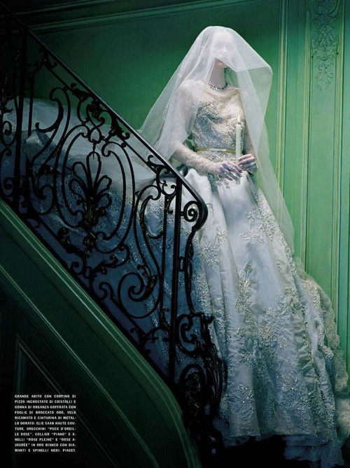 bohemea:  So Magical So Mysterious - Vogue Italia by Miles Aldridge, September-October 2012