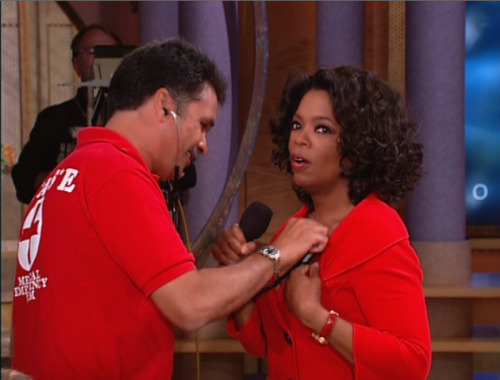 I miss The Oprah Winfrey Show. Remember this episode, where she proved to the world her breasts were real? Or how about the time she wore a fat suit and cried?