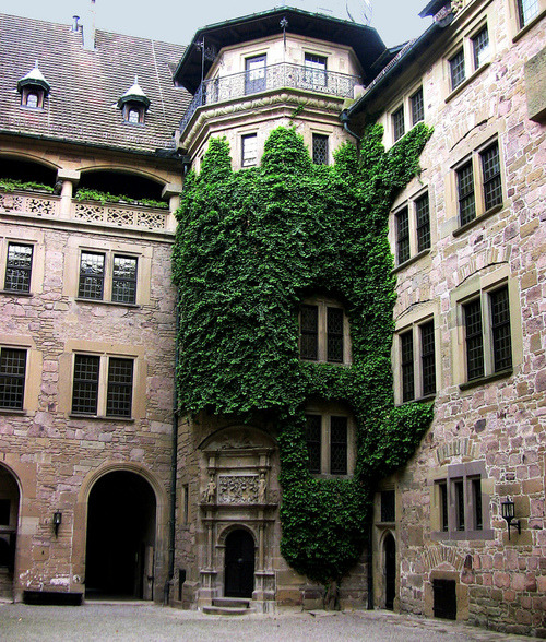 bluepueblo:  Castle Neuenstein, Wurttemburg, Germany photo via diggin