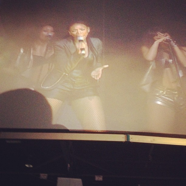 Watching at @4everbrandy  KILL the stage!  SO proud of her! (Taken with Instagram)