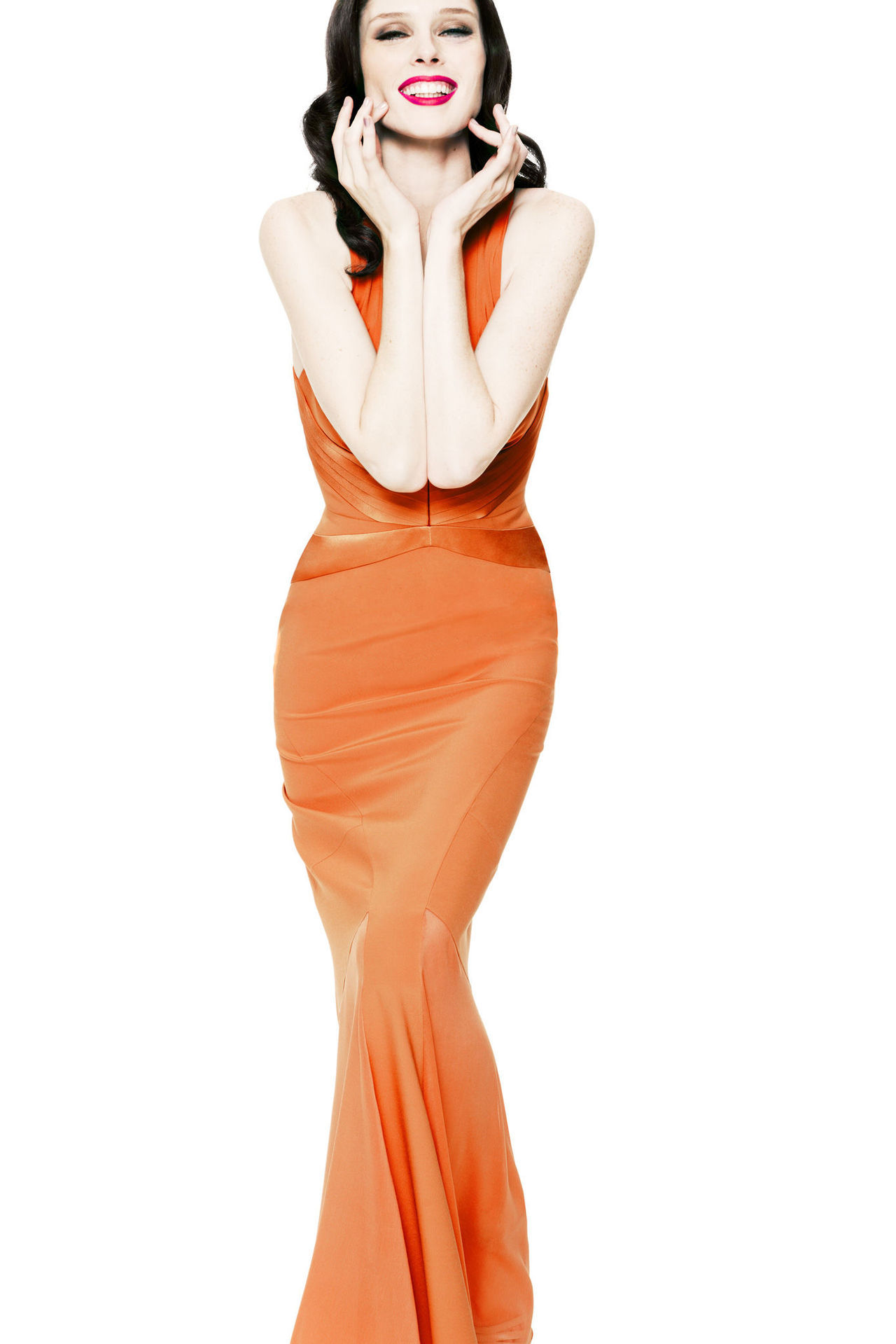 Coco Rocha for Z Spoke by Zac Posen, spring 2013