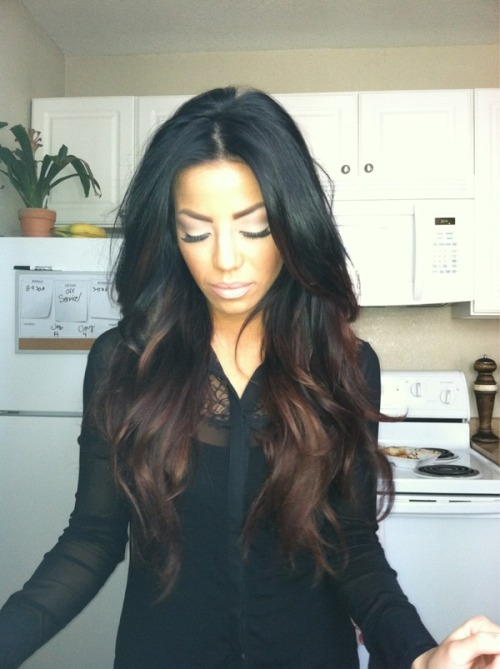 If I am going for an ombre effect more subtle like that do you have any tips on how to achieve that?  I think when you're going for a subtle look, it all depends on the color and blending it well. Make sure to not bleach it too much and color it a color that is close to your natural color. When putting the bleach on, put it on with upward strokes and try to blend in the front hairs, as in the picture. Using a highlighting method is also good for subtle ombres.