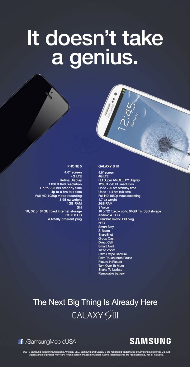 Samsung's new anti-iPhone 5 ad