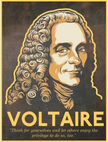 mainstreamrevolution:  Voltaire