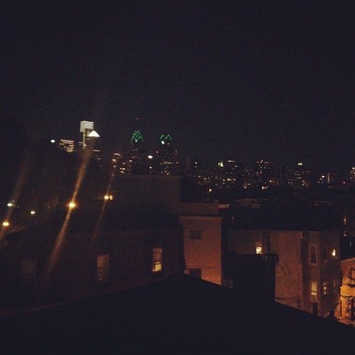 #philly #skyline (Taken with Instagram at The Diva Den)
