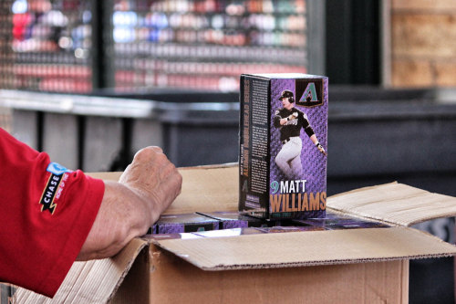 Hurry over to Chase Field if you want one of these.