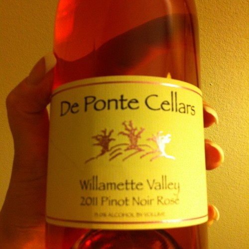 This Rose absolutely rocks!! #wine #orwine  (Taken with Instagram)