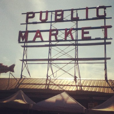 mirinaaa-t:  Pike Place! #seattle #photography #publicmarket #pikeplace #mine (Taken with Instagram)