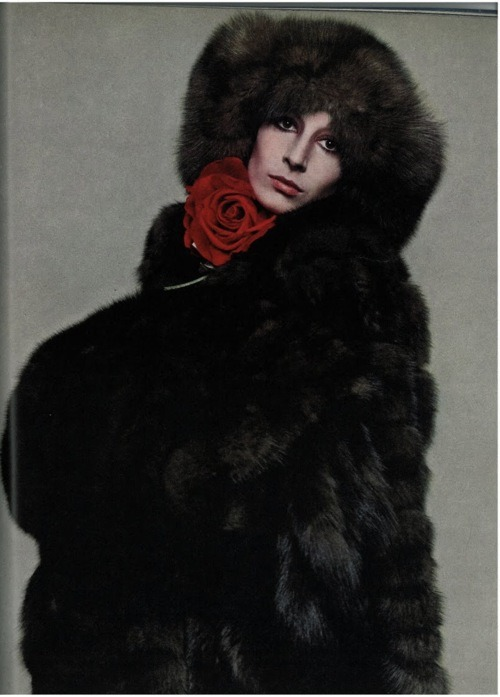 anjelica huston by richard avedon for vogue