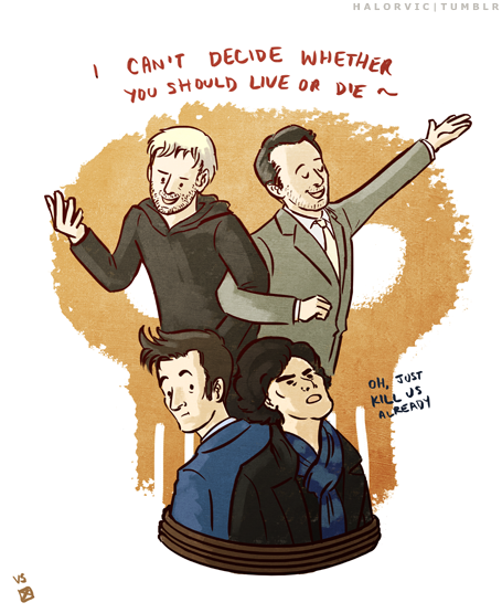 thetardis:  TAG TEAM - Zanderpants   Yes More Good