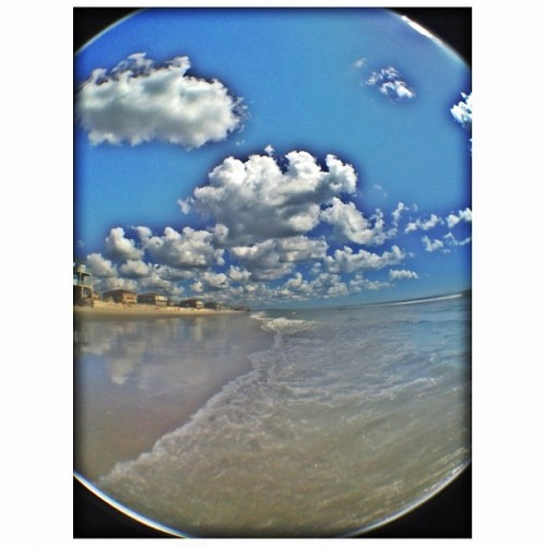 #clouds #photojojofisheye #fisheye #hdr #beach #oceanislebeach  (Taken with Instagram)