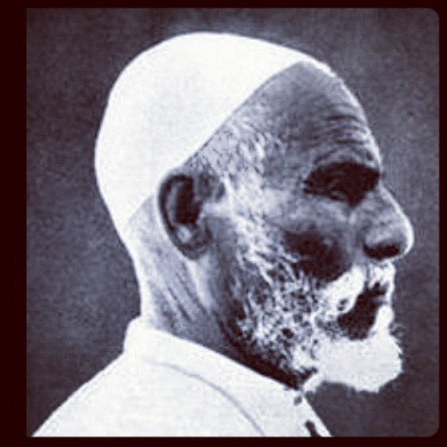 Omar AL-Mukhtar RIP for the sake of rationality and beliefs (Taken with Instagram)
