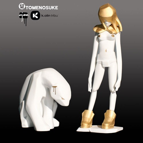 (via Vinyl Pulse: Tomenosuke x Ajee 6th Anniversary Exclusive Kosplay in Porcelain (9.29))