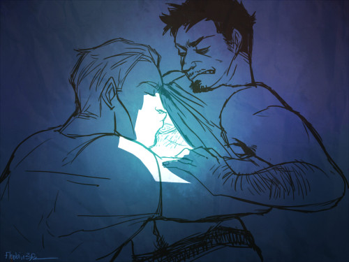 kissing your arc reactor softly