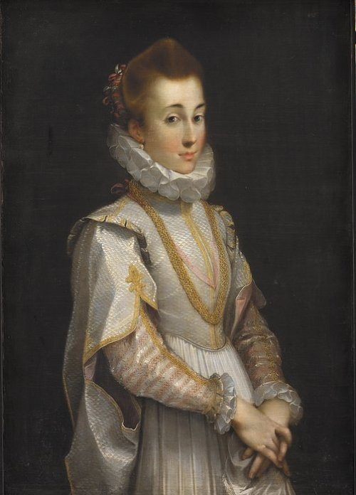 Portrait of a Young Lady by Federico Barocci, ca 1600, Statens Museum for Kunst Larger image