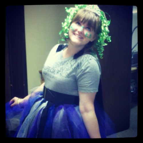 I'm an alien princess. :-) (Taken with Instagram)