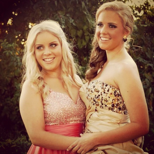 Beautiful girl ash on the right  makeup done by myself #makeup #semi #special #dress #beautiful #instagram #photo #photography   (Taken with Instagram)