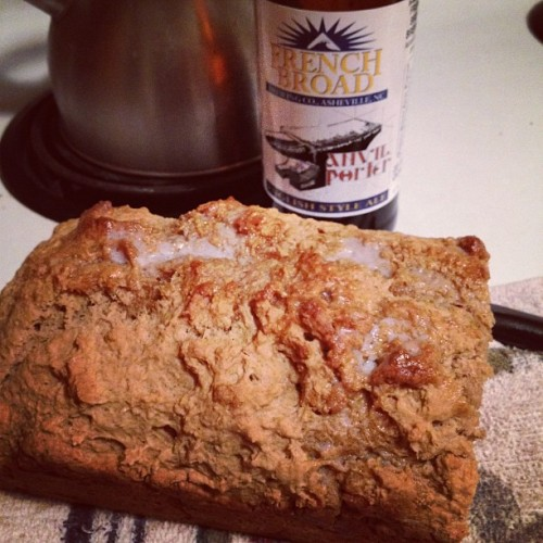 I made beer bread! (tomada con Instagram en cozy acres)