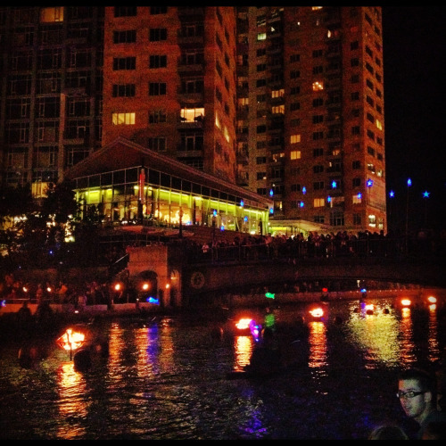Beautiful Water Fire in Providence :)