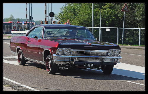 Chevrolet Impala Coupe / 1965 by Ruud Onos on Flickr.