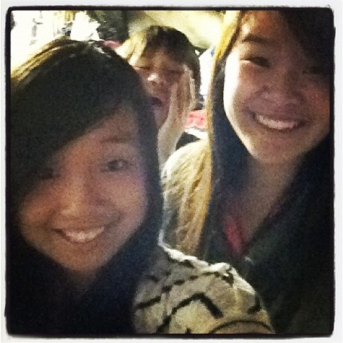 Andy photobombing wat. (Taken with Instagram)