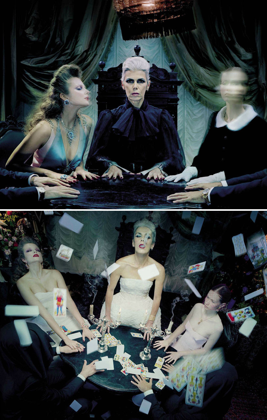 So Magical So Mysterious - Vogue Italia by Miles Aldridge, September-October 2012