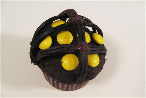 biosnacks:  Big Daddy Cupcakes, from this source with a how-to!