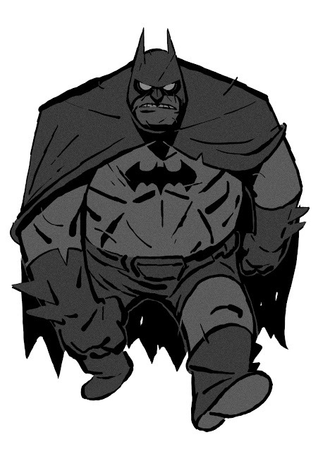 Batman by Maxime Mary
