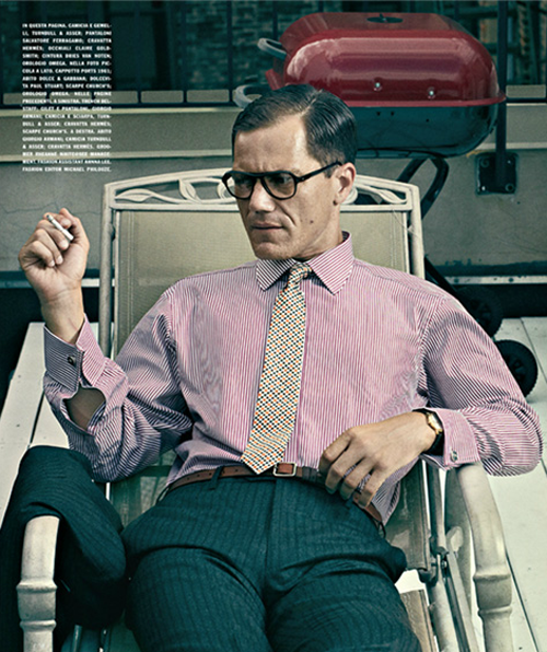 Michael Shannon: The Iceman - L'Uomo Vogue by Bjorn Iooss & Caitlin Cronenberg, September 2012