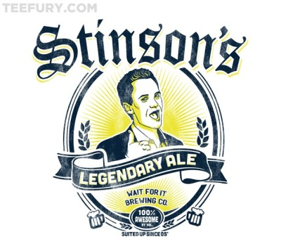 Legendary Ale - by CoD DesignsAvailable for $11 from TeeFury for 24 hours only.