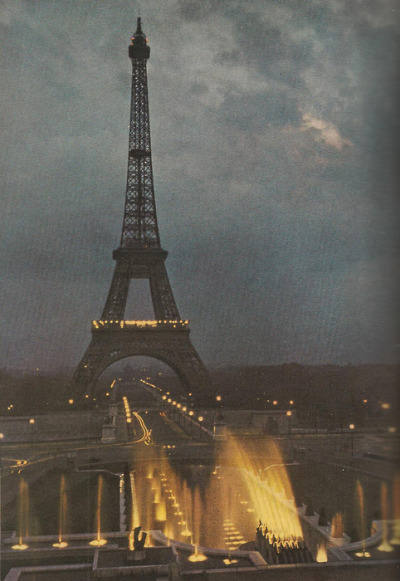 beaucoop:  The Eiffel Tower - June 1952 National Geographic