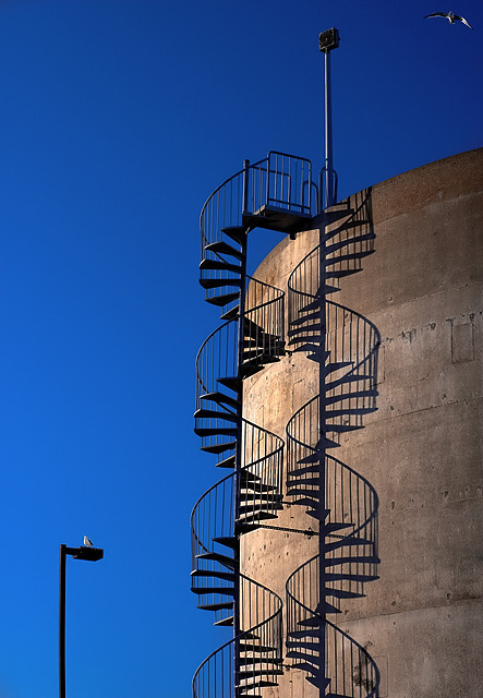 Shadow - a DNA staircase.