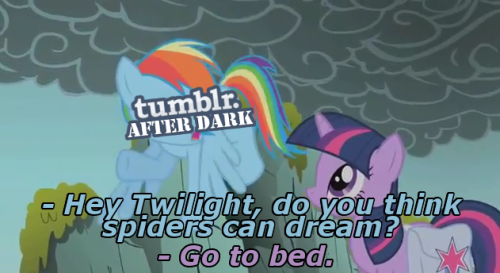 fried-mango-slushies:  headcanon: rainbow dash nightblogs