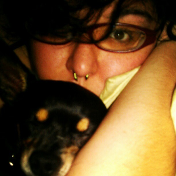 snuggz #dogge #chicharron #chihuahua #selfie (Taken with Instagram at Napsville)