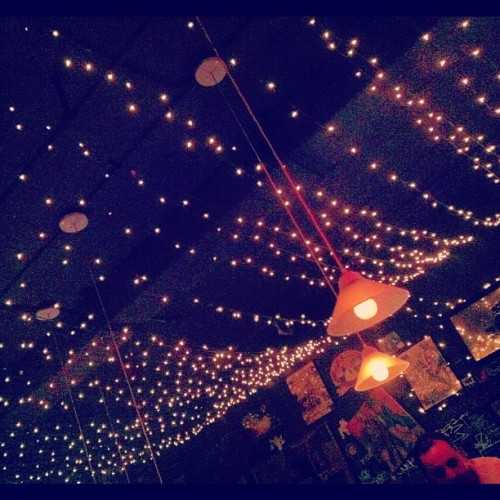 I ❤ #nights with my #love. #lights #bar #downtown #funsies  (Taken with Instagram at Bar-B-Q Bar)