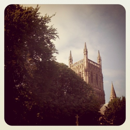 Sunny morning! #sun #cathedral #6/365 (Taken with Instagram)