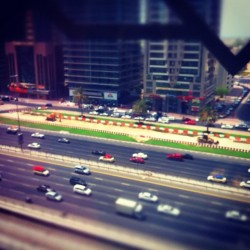 First attempt at tilt-shift. Yay! (Taken with Instagram)