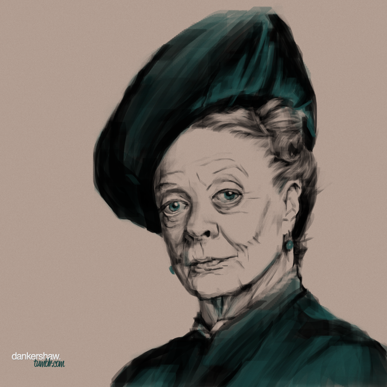 Maggie Smith | Downton Abbey