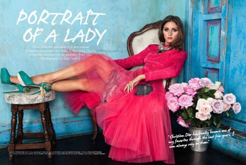 sexyqueen:  Olivia Palermo Graces Velvet's September 2012 Issue by Luc Coiffait