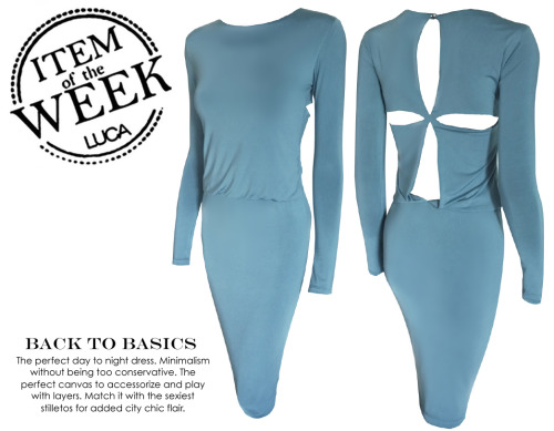 ITEM OF THE WEEK: BRIDGET DRESS (P2,500) Now available at www.shopluca.com