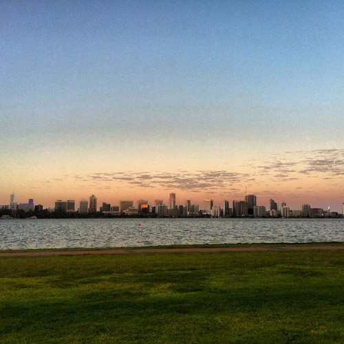 Twilight picnic.  ❤ (Taken with Instagram at South Perth Foreshore)