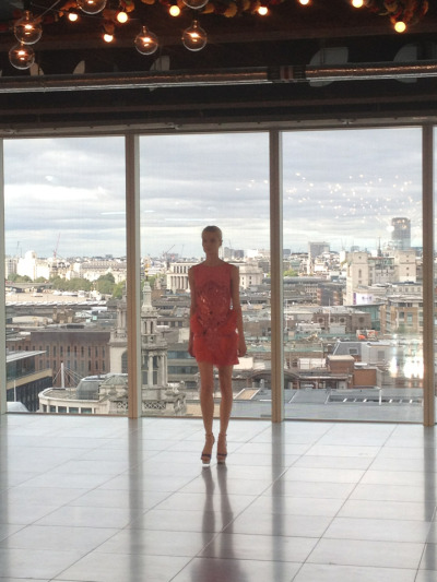 View from the top: Matthew Williamson walk through with panoramic views of London #LFW