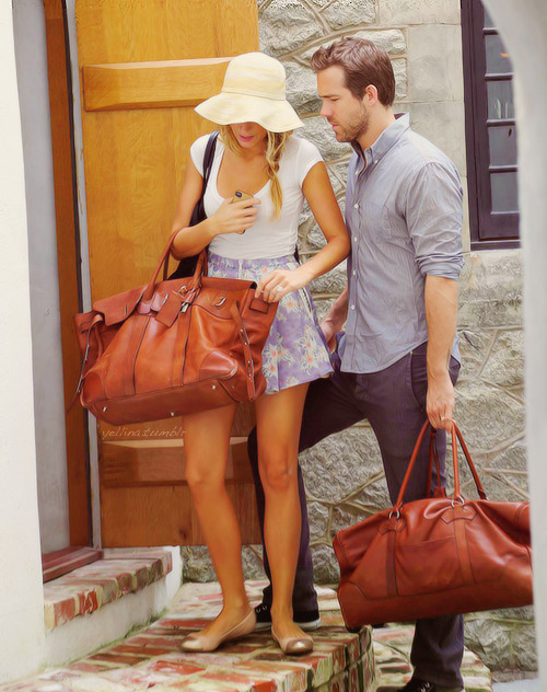 Married couple Blake Lively and Ryan Reynolds.