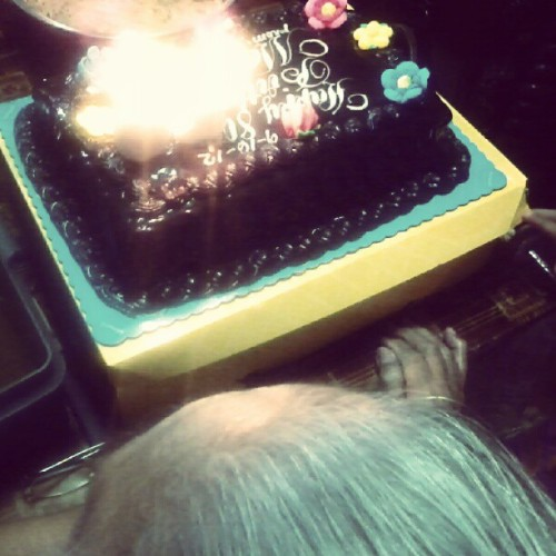 Happy 80th birthday, lola! We love you :-) (Taken with Instagram)